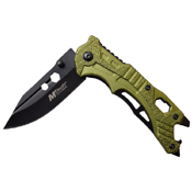MTech USA A1058 7.5 Inch Overall Folding Knife