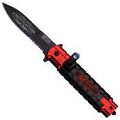 MTech USA Dual Tone Aluminum Handle Folding Knife