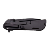 MTech USA A890BP Black Plain Edge Blade Folding Knife