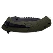 Master USA MU-A051 Nylon Fiber Handle Folding Knife