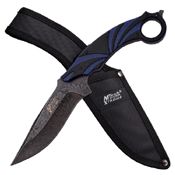 MTech USA Xtreme Stainless Steel Blade Fixed Knife With Nylon Sheath