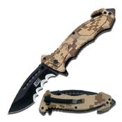 Mtech Xtreme Usa Mx-A800dm Spring Assisted Folding Knife