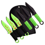 Perfect Point PP-094-6 6 Piece Set - Throwing Knife - 6 Inch