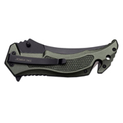 Tac-Force Skull Camo Blade Folding Knife