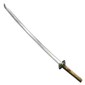 Tenryu Handforged Samurai Sword - Gold Handle