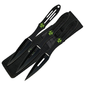 Z-Hunter Stainless Steel Handle Throwing Knife Set