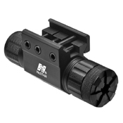 Ncstar Pistol And Rifle Green Laser With Weaver Mount With Pressure Switch