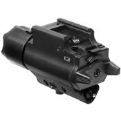 NcStar Tactical Pistol Laser and 200 Lumen LED Flashlight Combo