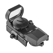 NcStar Red/Green Reflex Sight with 4 Reticles - Black
