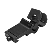 NcStar AR15 Flip-Up Rear Sight Offset - 45 Degree