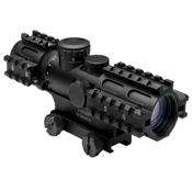 NcStar 2-7X32mm Rifle Scope with 3 Rail Weaver