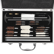 Ncstar Universal Gun Cleaning Kit With Aluminum Carry Case