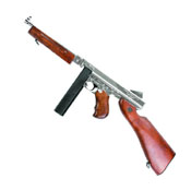 King Arms Thompson M1A1 HI Grade Silver Airsoft Rifle