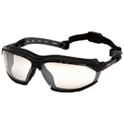 Pyramex Isotope Body Indoor/Outdoor Black/Gray Safety Goggles