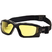 Pyramex I-Force Black Frame Goggle