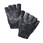 Raven X Fingerless Biker Gloves