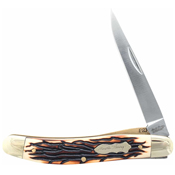 Schrade Uncle Henry Cat Paw Lockblade Clip Point Pocket Knife