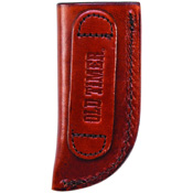 Pocket Knife Slip-In Small Leather Belt Sheath