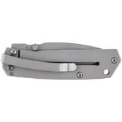 Schrade Mini Frame Lock Titanium Coated Drop Point Blade With 9Cr18mov Steel