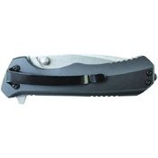 Schrade SCH502 Aluminum with Zytel Insert Handle Folding Knife