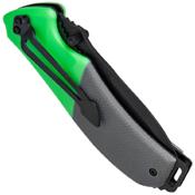 Schrade 3 Piece Black & Green Outdoor Fixed Blade/Folder/Axe Set
