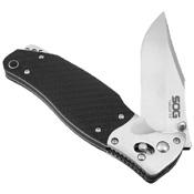 TomCat 3.0 Kraton Handle Folding Knife w/ Sheath