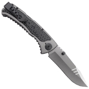 Sideswipe Plain Edge Folding Blade Knife