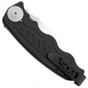 Zoom Mini AUS-8 Steel Tanto Folding Blade Knife
