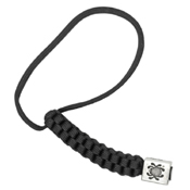 Spyderco BEAD1LY Lanyard w/ Square Pewter Bead