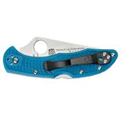 Spyderco Delica Lightweight 7.11 Inch FRN Handle Folding Knife
