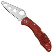 Spyderco Delica 4 Red FRN Handle Training Knife