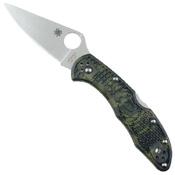 Spyderco Delica 4 FRN Handle Folding Knife