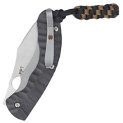 Perrin PPT Solid Carbon Fiber 4.25 Inch Handle Folding Knife