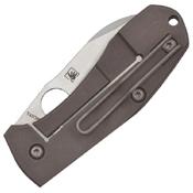 Techno 2 Stonewash-Finished Blade Folding Knife