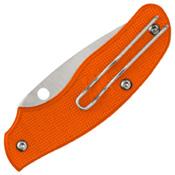 Spyderco Spy-DK Knife - Orange Handle