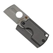 Spyderco Dog Tag Gen 4 Aluminum Handle Folding Knife