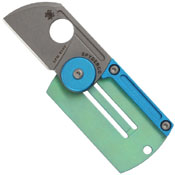 Spyderco Dog Tag Bead Blast Blade Knife