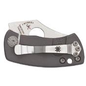 Spyderco McBee Titanium Handle Folding Knife