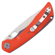 Subvert CPM-S30V Steel Blade Folding Knife - Orange