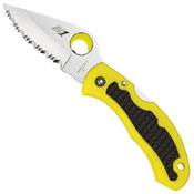 Spyderco Snap-It Salt H-1 Steel Blade Folding Knife