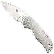 Spyderco Native 5 Leaf-Shaped Blade Knife - Titanium Handle
