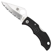 Spyderco Ladybug3 Knife - Serrated Edge