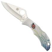 Spyderco Ladybug3 Tattoo Knife