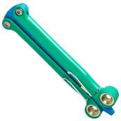 Spyderco Green Blue Baliyo
