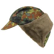 German Flectar Camo Used Winter Cap