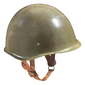 Hungarian Steel Helmet - Olive-Made In Hungary