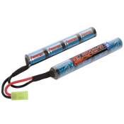 9.6V 1600mAH Ni-MH Butterfly Nunchuck Airsoft Battery