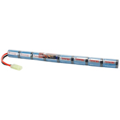 9.6V 1600mAh NiMH Airsoft Stick Battery