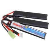 Crane Style 11.1V 1000mAh Buffer Tube LiPo Battery