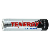 Tenergy Li-ion 18650 3400mAh Protected Button Top Battery